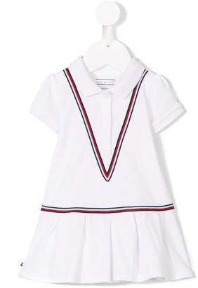 Tommy Hilfiger Junior tri-stripe polo dress