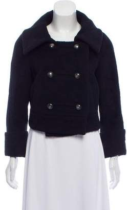 Diane von Furstenberg Lady Bird Wool-Blend Jacket