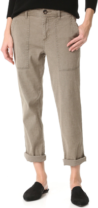 James Perse Relaxed Workwear Pants $225 thestylecure.com