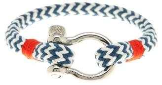 Jean Claude D-Clamp Rope Tide Bracelet