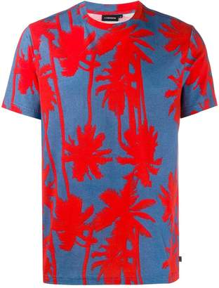 J. Lindeberg Silo printed T-shirt