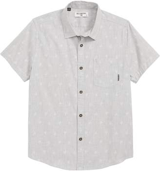 Billabong Sundays Palm Tree Woven Shirt