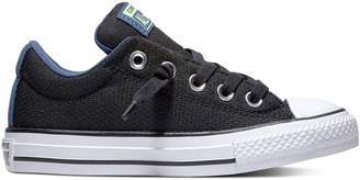 Converse Boys' Chuck Taylor All Star Street Slip Low Sneakers