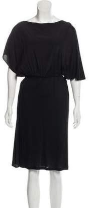 Fendi Knee-Length Bateau Neckline Dress