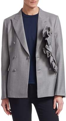 Comme des Garcons Wool Double Breasted Blazer