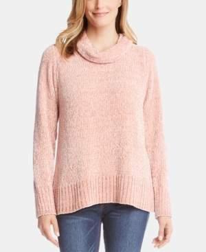 Karen Kane Cowlneck Chenille Sweater
