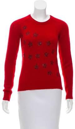 Saint Laurent Wool Star Sweater w/ Tags
