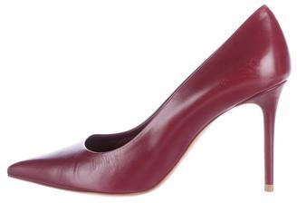 CelineCéline Pointed-Toe Leather Pumps