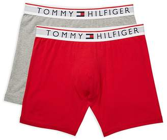Tommy Hilfiger Logo Boxer Briefs, Pack of 2