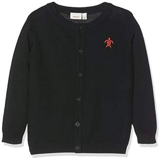 Name It Baby Boys' Nbmfamonto Ls Knit Card Cardigan,(Manufacturer Size: 56)
