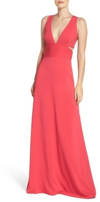 Women's Laundry By Shelli Segal Stretch Gown $295 thestylecure.com