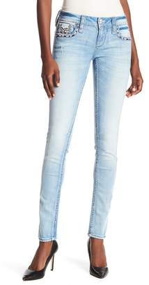 dc8920561e Rock Revival Emebllished Embroidered Skinny Jeans