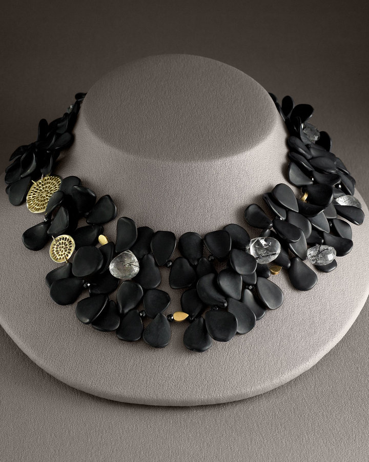Joan Hornig Petal & Pinwheel Necklace