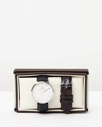 Daniel Wellington Iconic Exclusive - Sheffield York 40mm Gift Set