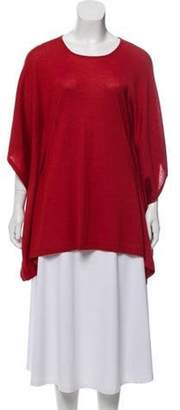 Michael Kors Cashmere Short Sleeve Sweater Red Cashmere Short Sleeve Sweater