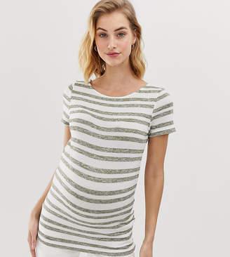Mama Licious Mama.Licious Mamalicious stripe t-shirt