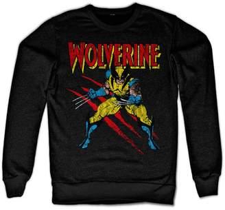 Wolverine Marvel Comics Officially Licensed Merchandise Scratches Sweatshirt