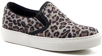 Gray & Black Snake King Kat Slip-On Sneaker $129 thestylecure.com