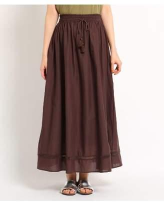 Dessin (デッサン) - Ladies [洗える][ウエストゴム]インドコットンロングスカート