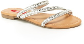UNIONBAY Peace Women's Studded Slide Sandals