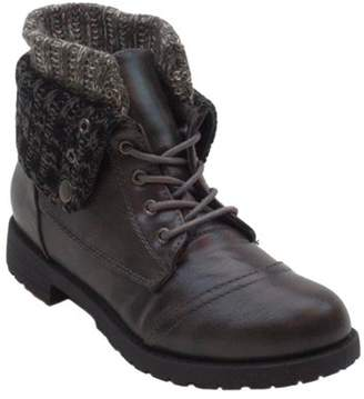 BLUE SUEDE SHOES Blue Women's Milbear Combat Boots