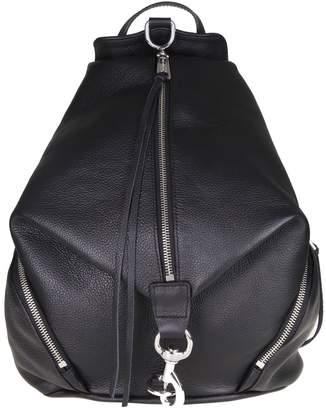 Rebecca Minkoff julian Backpack In Black Color Leather