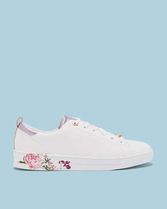 Ted Baker GIELLIP Printed sole tennis trainers