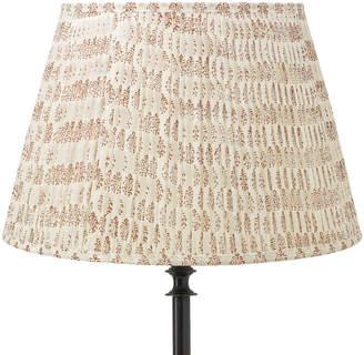 OKA 45cm Rajasthan Pleated Lampshade