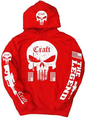 Craft American Sniper White Logo Hoodie, XL