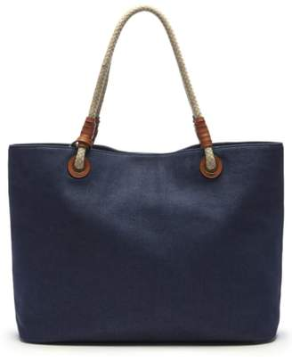 Sole Society Faux Leather Oversize Tote