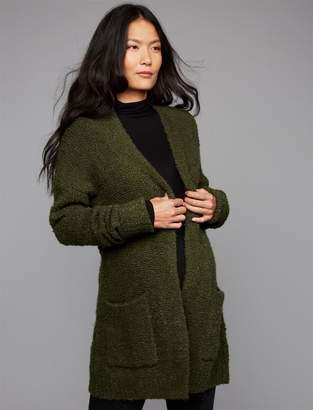 A Pea in the Pod Luxe Essentials Denim Cuffed Maternity Sweater