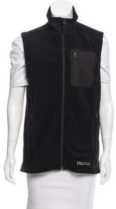 Marmot Fleece Zip Front Vest w/ Tags