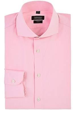 Barneys New York Men's Plaid Cotton Dress Shirt