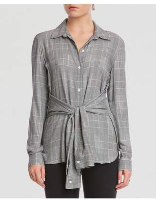 Bailey 44 Bailey/44 Hold Me Tight Plaid Shirting Top