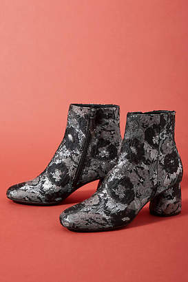 Bruno Premi Metallic Brocade Booties