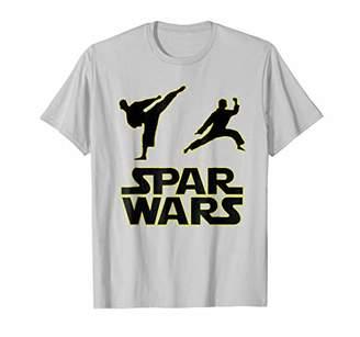 Spar Wars Taekwondo MMA Karate T Shirt