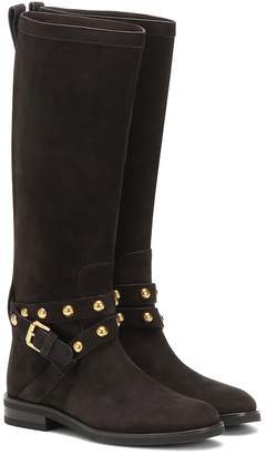 See by Chloe Neo Jines suede knee-high boots