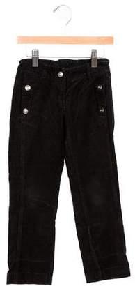 Christian Dior Girls' Straight-Leg Corduroy Pants