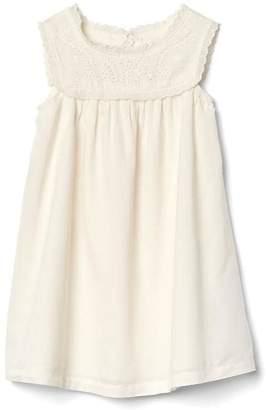 Eyelet cap dress $39.95 thestylecure.com