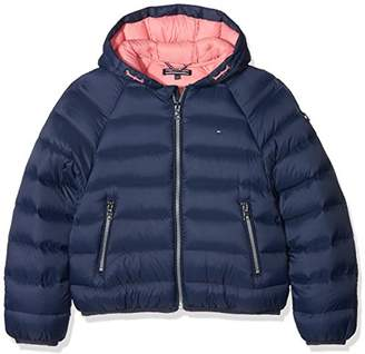 Tommy Hilfiger Girl's Thkg Lt Down Crop Jacket Jacket,(Manufacturer Size: 8)
