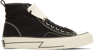 Visvim Black Skagway Kiltie High-Top Sneakers