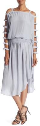 Ramy Brook Leanne Strappy Sleeve Dress