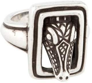 Kieselstein-Cord Alligator Ring