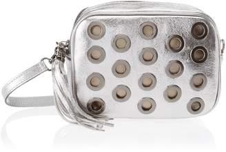 Argento Chicca Borse Women's CBS178484-437 Shoulder Bag Silver Silver