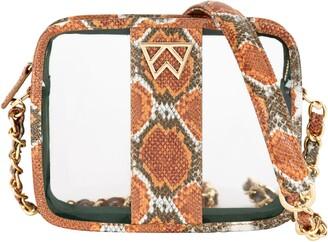 clear Kelly Wynne Mingle Mingle Mini Crossbody Bag
