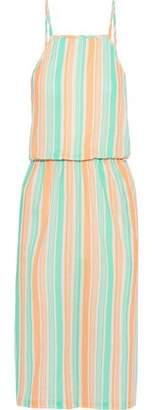 Tart Collections Olivia Striped Cotton-gauze Dress