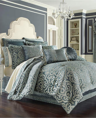 J Queen New York Sicily Teal Bedding Collection