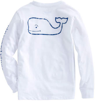 Vineyard Vines Boys Long-Sleeve Vintage Whale Edgartown T-Shirt