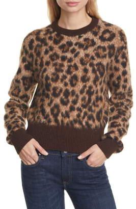 Polo Ralph Lauren Crop Alpaca & Merino Wool Sweater