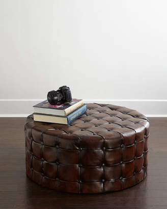 Waterford Timothy Tufted Round Ottoman
